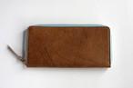 ◆クードゥー ネイキッド_ナチュラル◆外装◆おとな財布◆ラウンドジップ