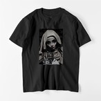 "5.6oz Art Print Cotton S/S TEE ""Maria"""
