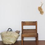 【受注生産品につき現在2カ月待ち☆オーダー受付中】つばめの家の子ども椅子