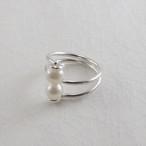 淡水真珠の指輪