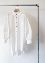 バルーンスリーブ ロングシャツ / near.nippon
