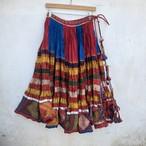 Vintage インド バンジャーラ族 フレアスカート