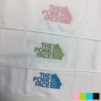 【送料無料選択可】泉州タオル×THE PORK FACE フェイスタオル2枚セット(B級品)