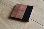 wood&leather coaster