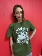 らりるRIE レオパードゲッコーTシャツ LeOPARD GeCKO T-shirt #06 グリーン