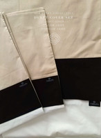 Bed Linen Duvet cover set Q/K Size ベッドリネン5点セット Q/Kサイズ 布団カバー / 枕カバー2 / クッションカバー2