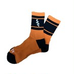 SURF SKATE CAMP × BLUE VALENTINE #SSC Sports Socks Orange