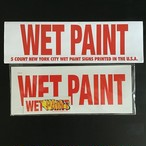 NEW YORK CITY WET PAINT SIGNS PACK