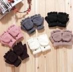 【手袋】★寒い冬★暖かい手袋★防寒★可愛い手袋 学生風格★レディース用★6色 YZ1673