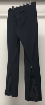 2000s PRADA SPORT BACK ZIPPER NYLON TROUSERS