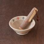 ちょっとした薬味作りにオススメ!ミニすり鉢15選「ミニすり鉢(すりこぎ付)」№03