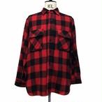 50's Unknown Wool Buffalo check shirt
