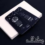「NBA」ロサンゼルス オールスター2018 チームステフィン ユニフォーム ブラック サイン入り iPhoneX iPhone8 ケース