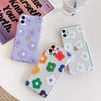 Cute Flower Transparent iphone case