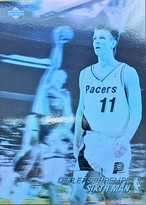 NBAカード 91-92UPPERDECK Detlef Schrempf #AW5 PACERS