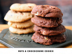 《BLACK》ナッツ&チョコレートチャンククッキー 2個入り