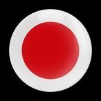 178番 ゴーバッジ FLAG JAPAN
