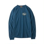 "AT-DIRTY(アットダーティー) / ""ANY DAYS L/S TEE""(BLUE)"