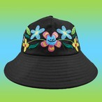 LEON KARSSEN - FLORALBOI BUCKET HAT (Black)