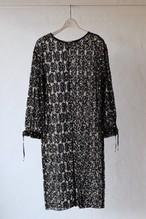【eicayoshinari】embroidery lace dress
