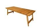 「予約商品」OOPARTS OAK フォールディング W1200 テーブル(脚一体型)