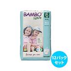 [12パックセット]Bambo Nature紙おむつパンツ (サイズ6)