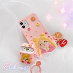 iphoneケース スマホケース 韓国 iphone11 iphone ケース アニメ おそろ ピンク