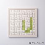 【V】枠色ホワイト×ガラス インテリア アートフレーム 脱臭調湿(エコカラット使用)