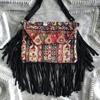 2WAY Leather Fringe Bag