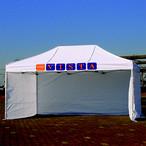 かんたんテント3オプション キングサイズ用横幕一方幕 3.6m