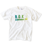 "B.O.K T-shirt ""green gradation"""