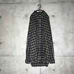 [Ralph Laurent] mode checkered shirt
