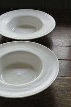 濱岡健太郎 リム付きスープ皿