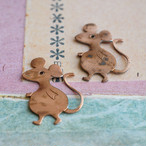 1960's 銅のネズミ(2コ)