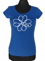 【JTB】 FIORE ストレッチ Tシャツ【ブルー】【新作】イタリアンウェア【送料無料】《W》
