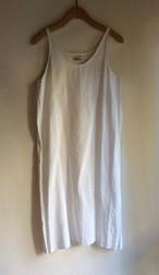 YAECA #177213 インドオールハンドドレス スリップ コットンリネン