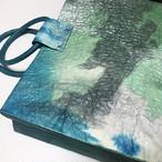黒谷和紙のバッグ【海洋】