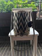 【Pre-order】Wayuu bag (ワユーバッグ) Luxe Line With Bead Art B