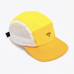 Tri-Color Runners Cap(Pale Yellow)