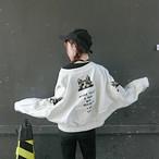 cat printed fall jacket 3324