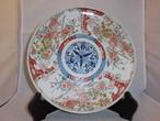 伊万里色絵唐獅子皿 Imari porcelain plate(Chinese lion)