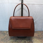 2000000005676 CELINE LEATHER HAND BAG MADE IN ITALY/セリーヌレザーハンドバッグ