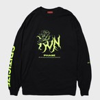 """criticize""Long Sleeve(Lime)"