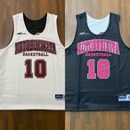 【デザインサンプル】寿北バスケットボールクラブ(U12・女子)リバーシブルシャツ