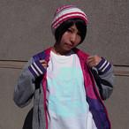 カニ巫女お散歩専用Tシャツ クリームソーダ