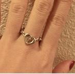 HEART chain RING #1715 ハートチェーンリング/シルバー
