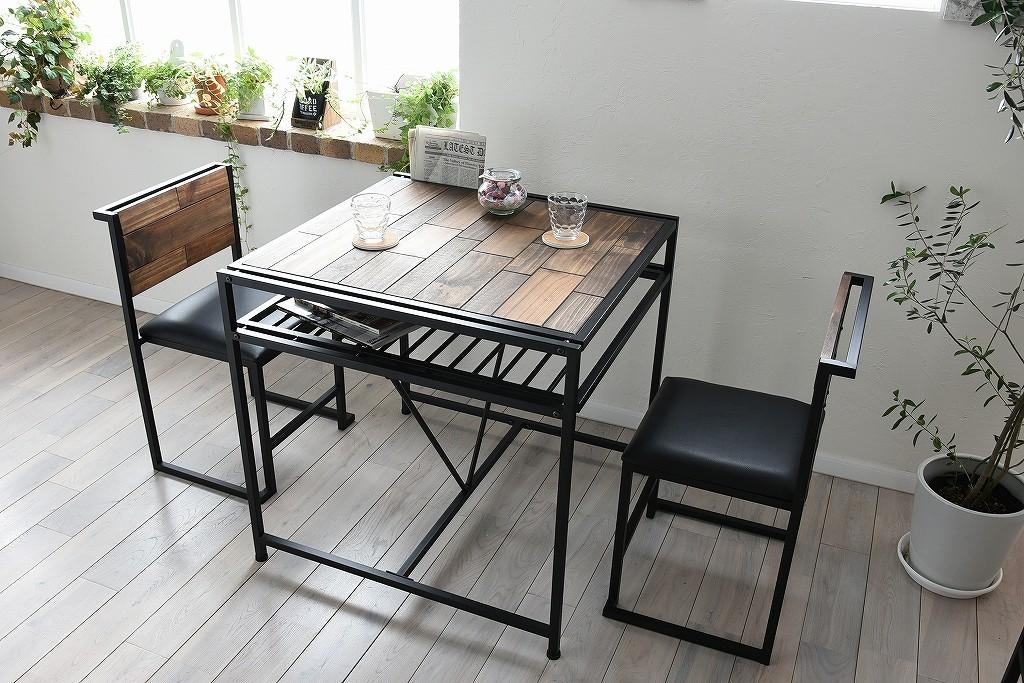 《インダストリアル家具通販》ありそうで無かったインダストリアル ミッド ダイニングテーブル