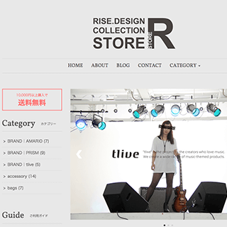 RISE.DESIGN|COLLECTION STORE  on the BASE
