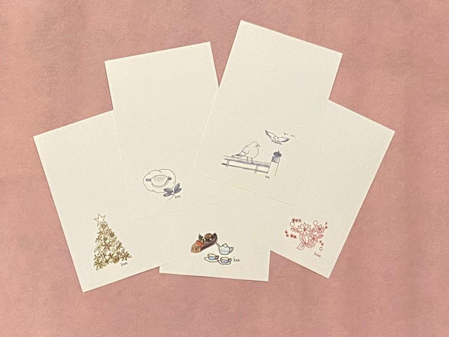 お待たせいたしました!Ando Kaeデザイン ポストカード