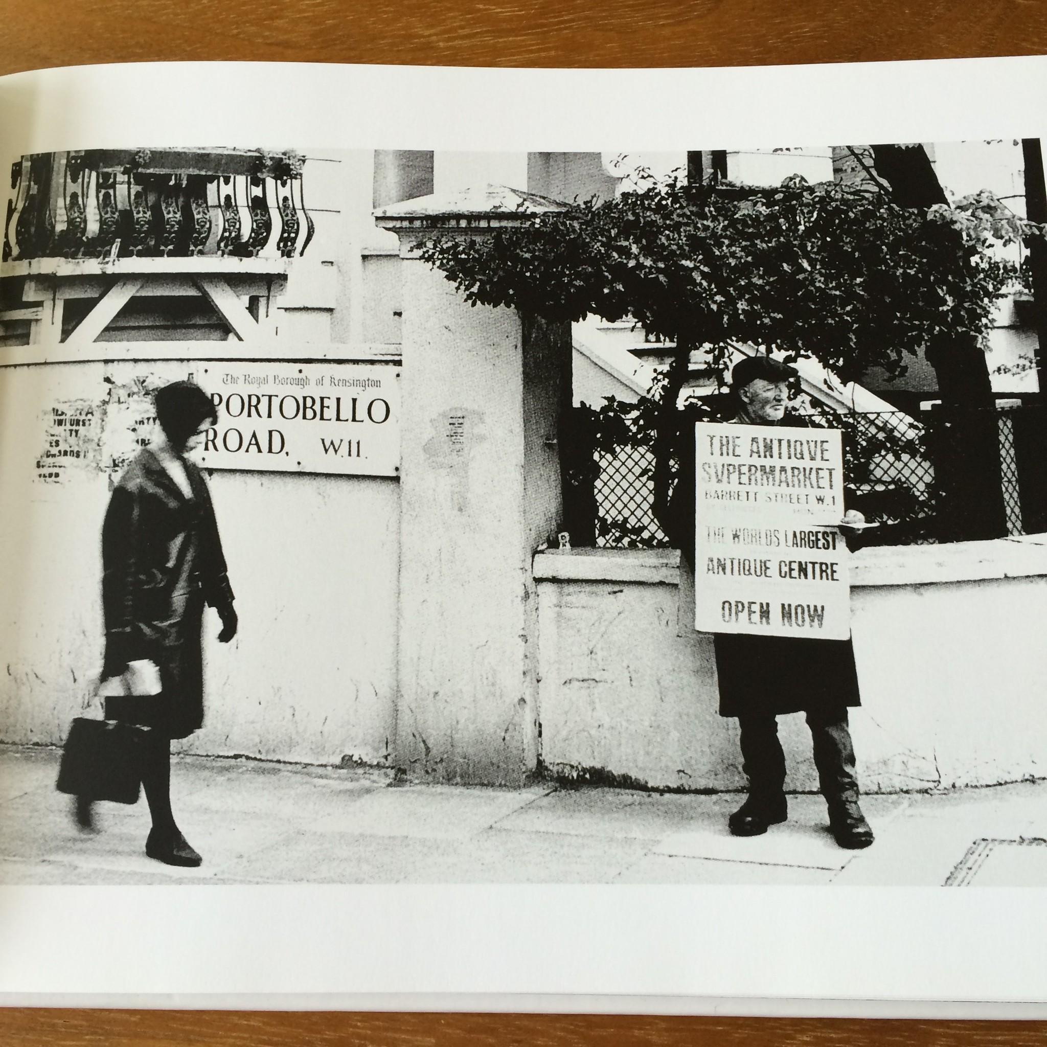 60年代のポートベロー・マーケットを捉えたファッションにも注目の一冊。